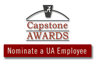 Nominate a UA Employee for a Capstone Award