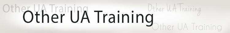 Other UA Training