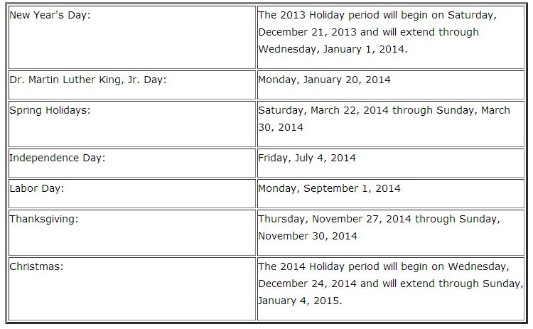 Nc State Employees Holidays   Calendar Template 2016
