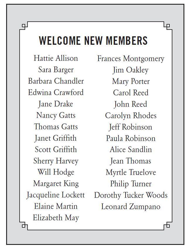 new fall 2015 members