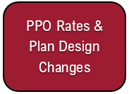 PPO Premiums & Plan Design Changes