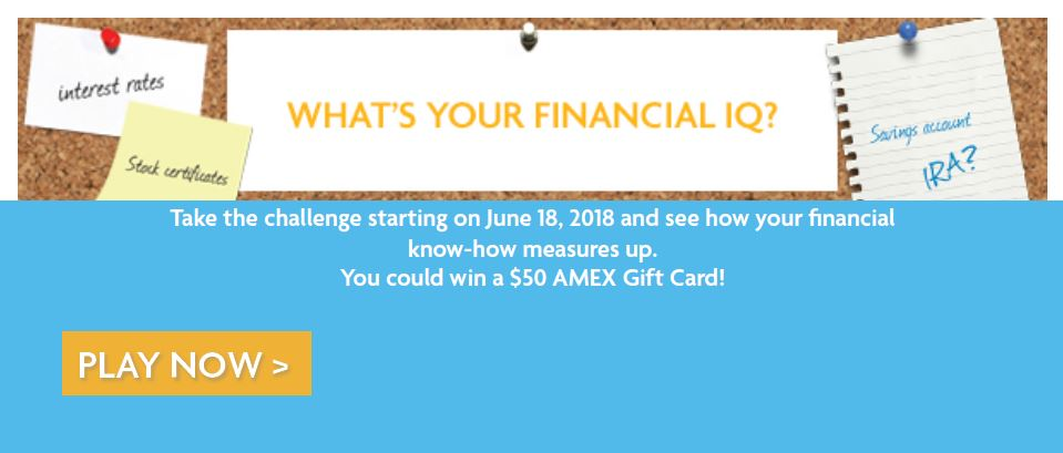 Go to What's Your Financial IQ Challenge