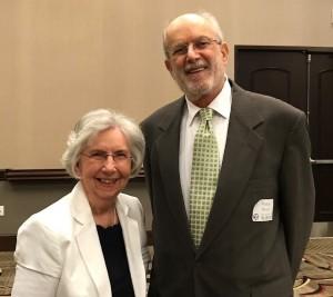 Mathew Winston presented the Judy Bonner Award to Mildred Switzer.